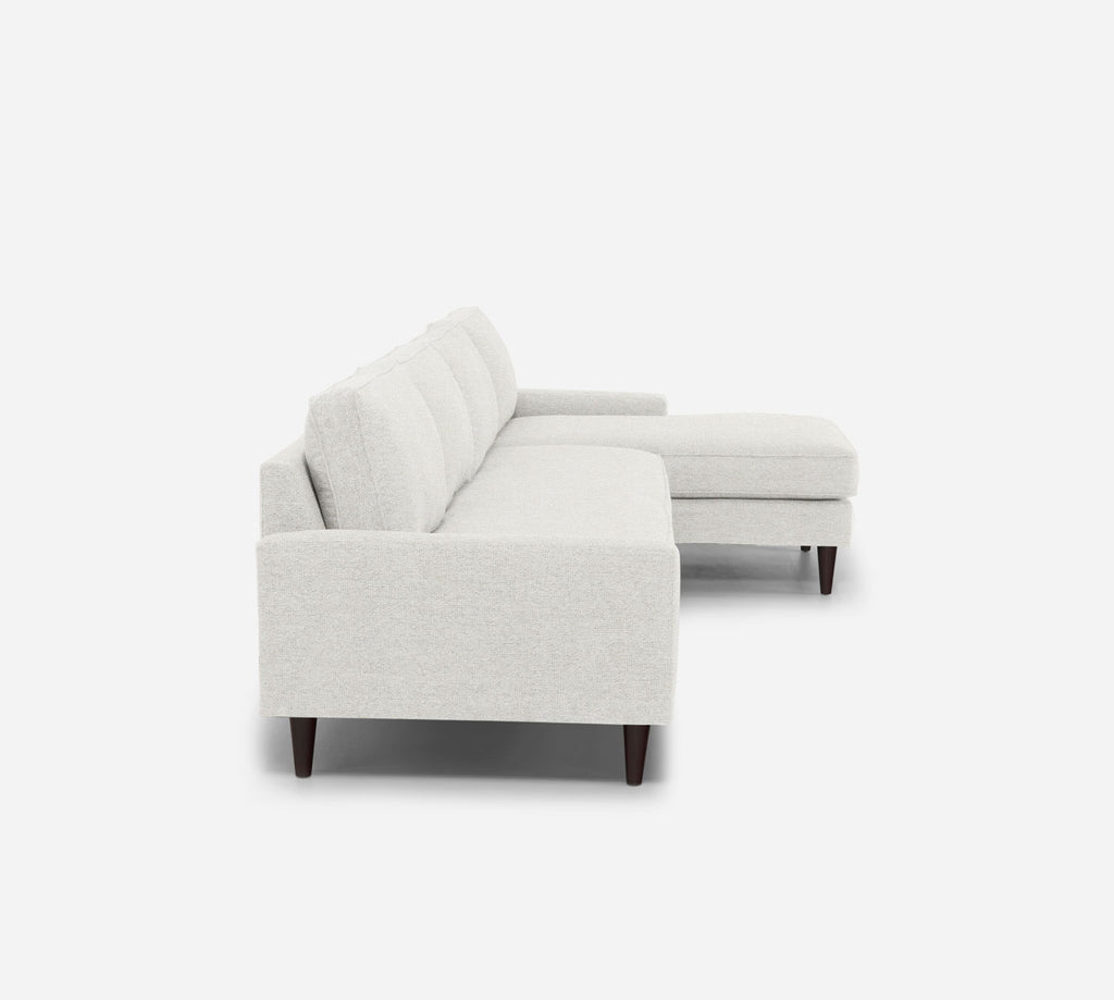 Holland RAF Chaise Sectional - Stardust - Ivory