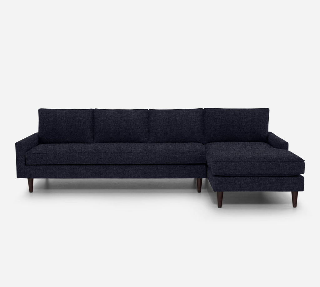 Holland RAF Chaise Sectional - Stardust - Midnight