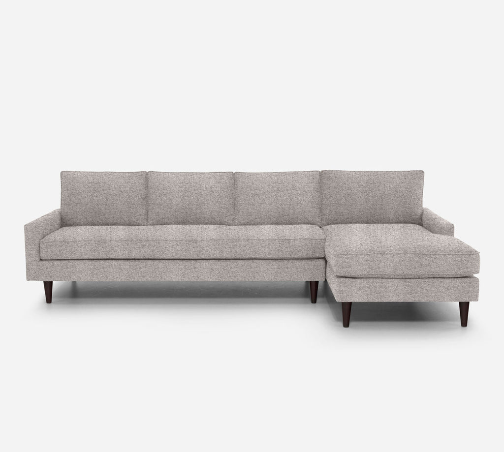 Holland RAF Chaise Sectional - Theron - Oyster