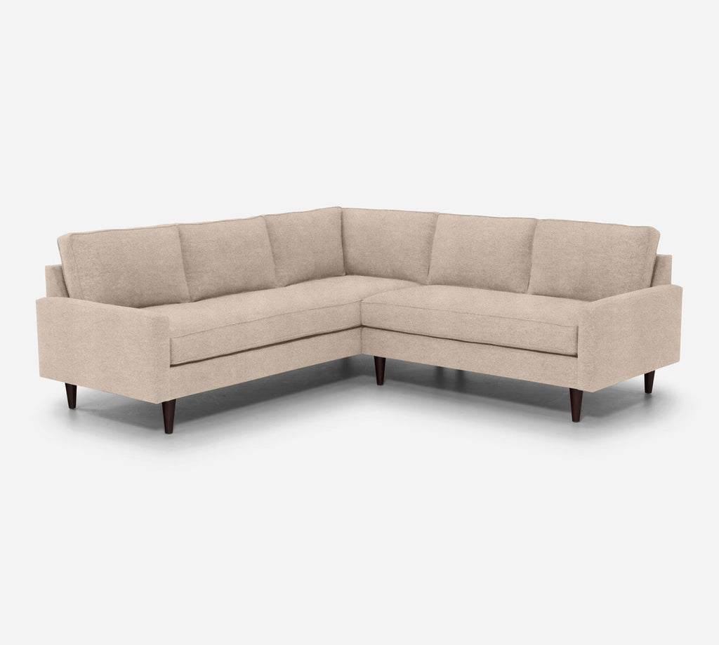 Holland RAF Corner Sectional - Passion Suede - Camel