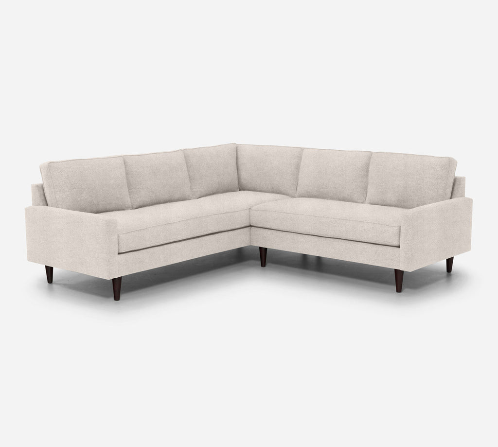 Holland RAF Corner Sectional - Passion Suede - Oyster