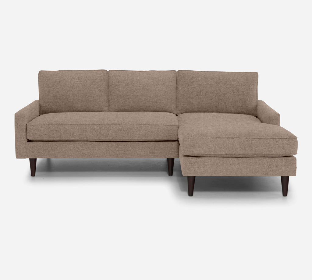 Holland Sectional Apartment Sofa w/ RAF Chaise - Coastal - Cashew