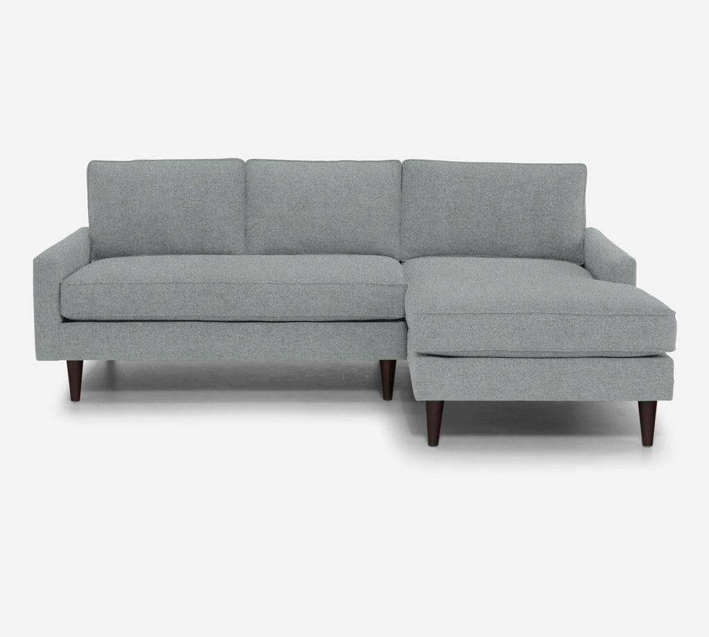 Holland Sectional Apartment Sofa w/ RAF Chaise - Dawson - Capri