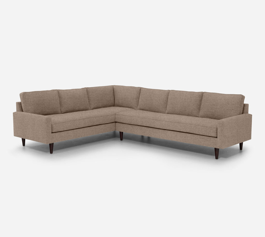 Holland RAF Large Corner Sectional - Coastal - Cashew
