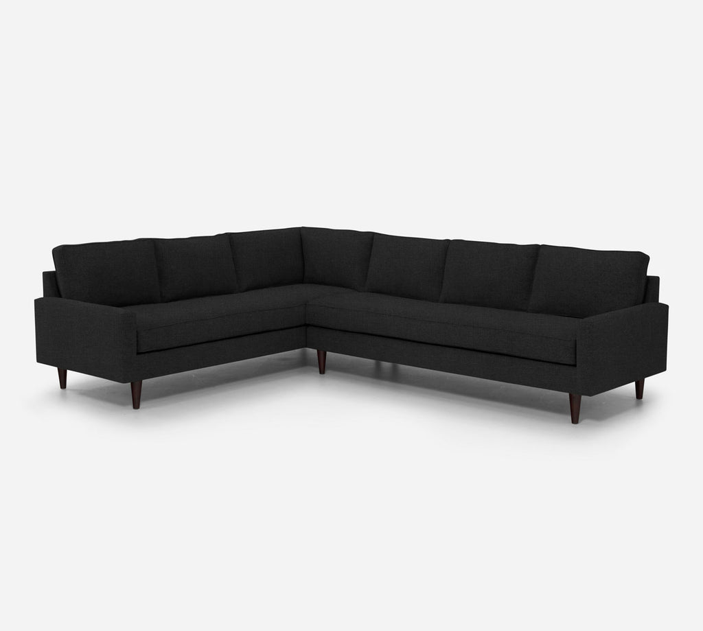 Holland RAF Large Corner Sectional - Heritage - Charcoal