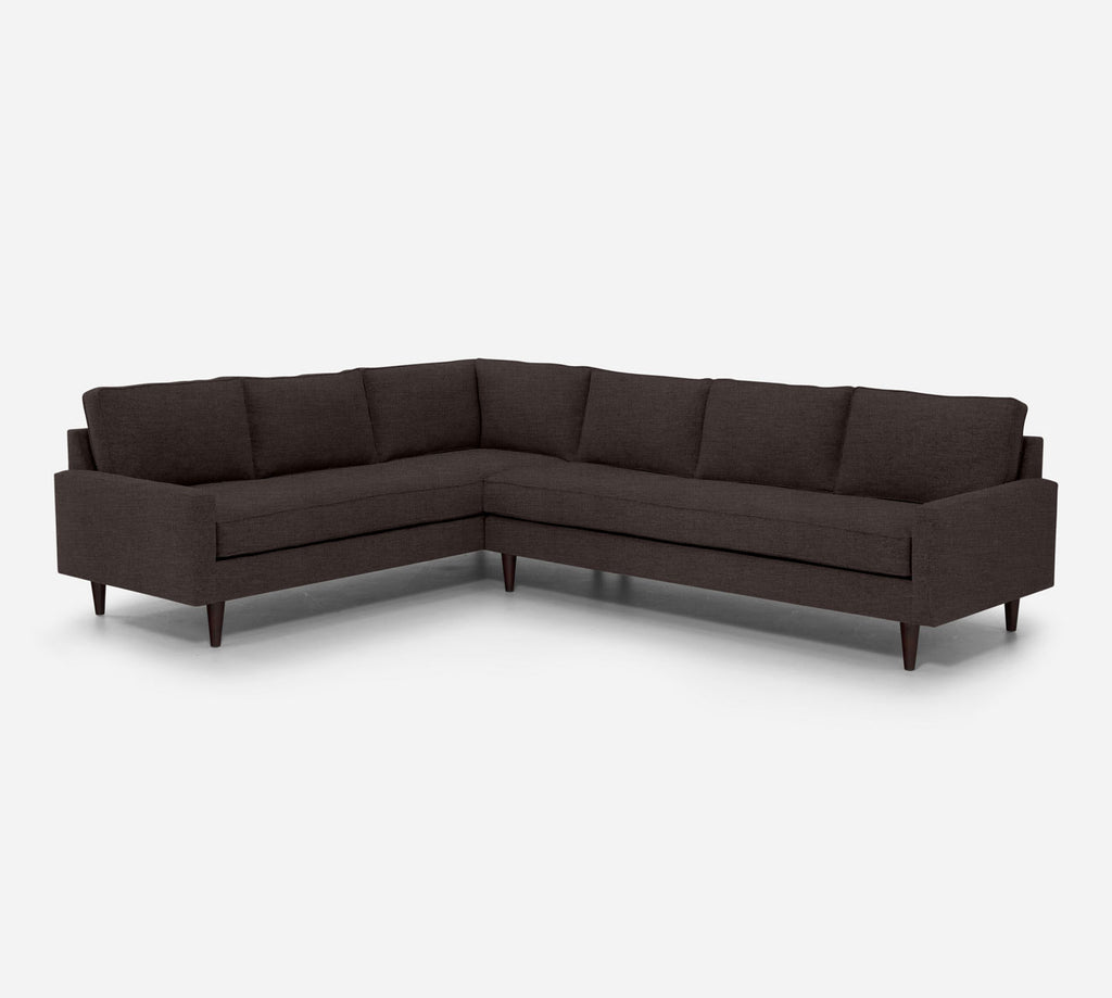 Holland RAF Large Corner Sectional - Key Largo - Mocha
