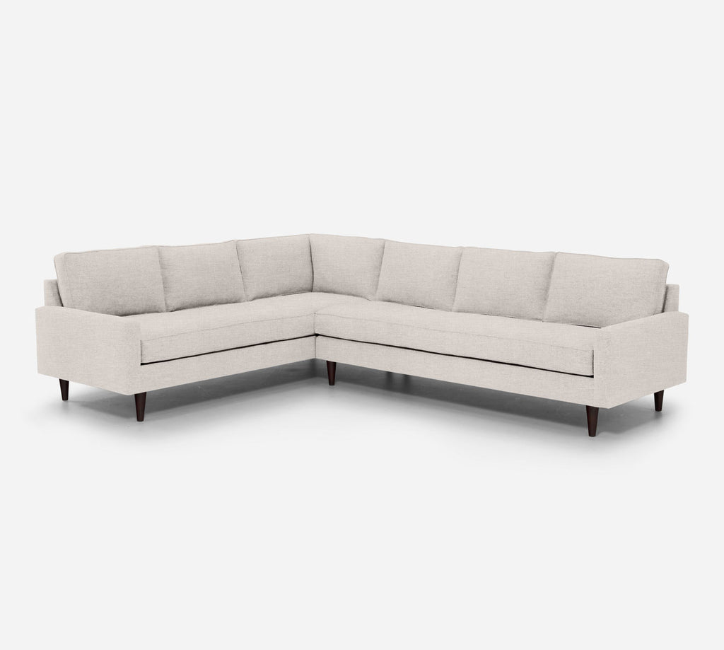 Holland RAF Large Corner Sectional - Key Largo - Oatmeal