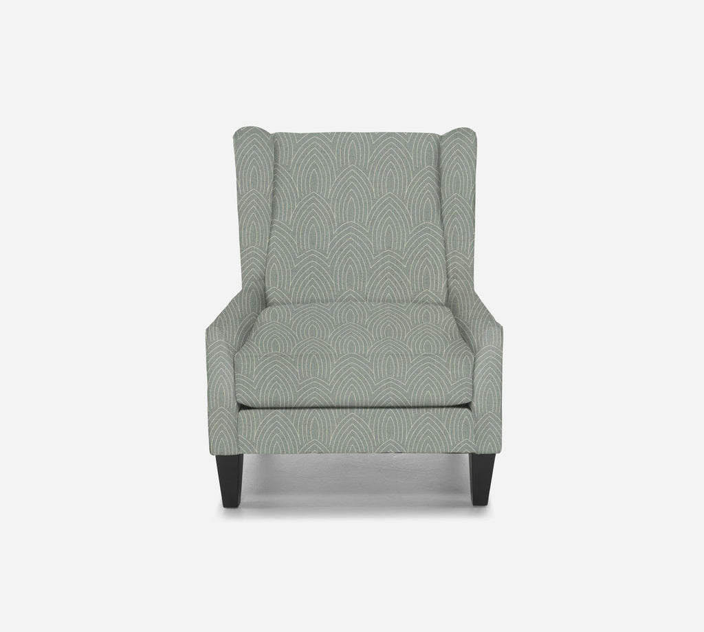 Iris Wingback Chair - Cathedral - SKY