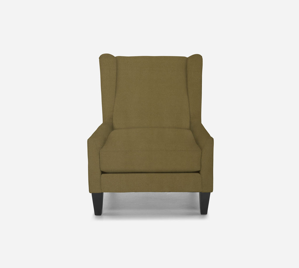 Iris Wingback Chair - Modern Velvet - ALOE