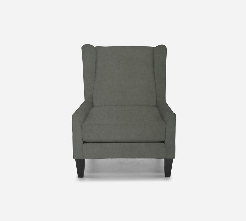 Iris Wingback Chair - Modern Velvet - WILLOW