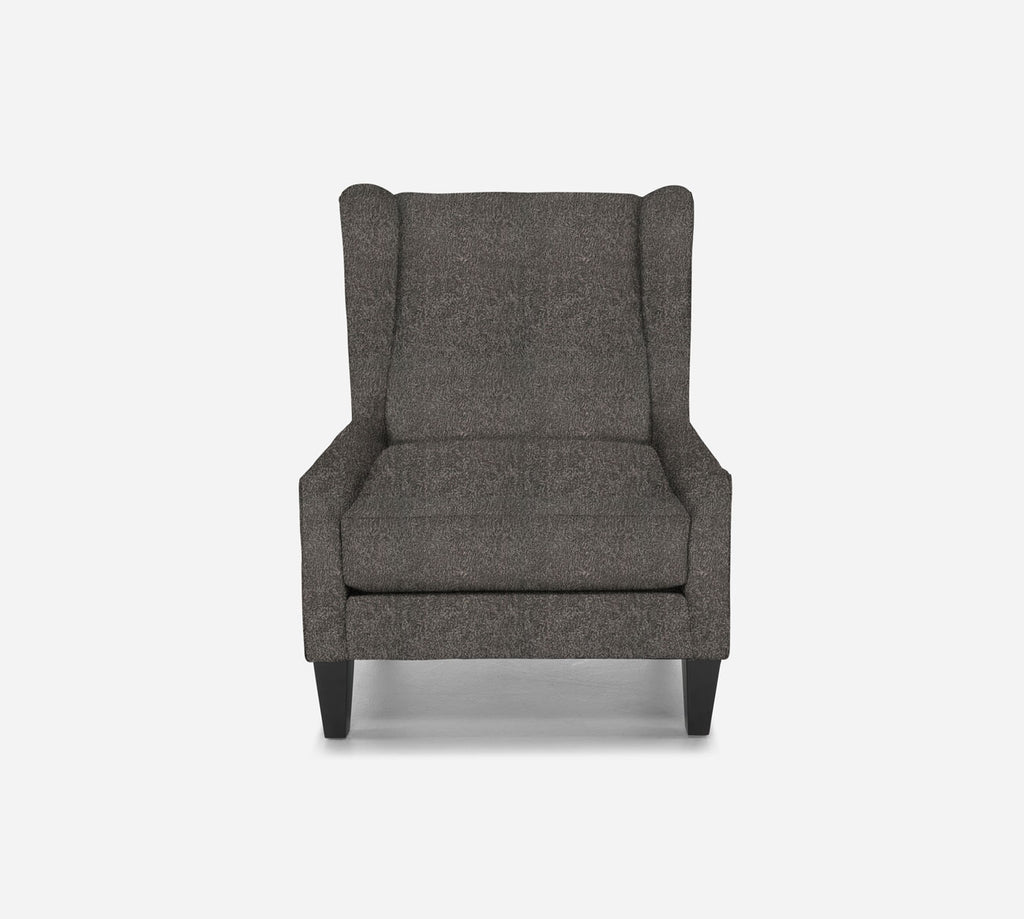 Iris Wingback Chair - Sheepskin - GREY