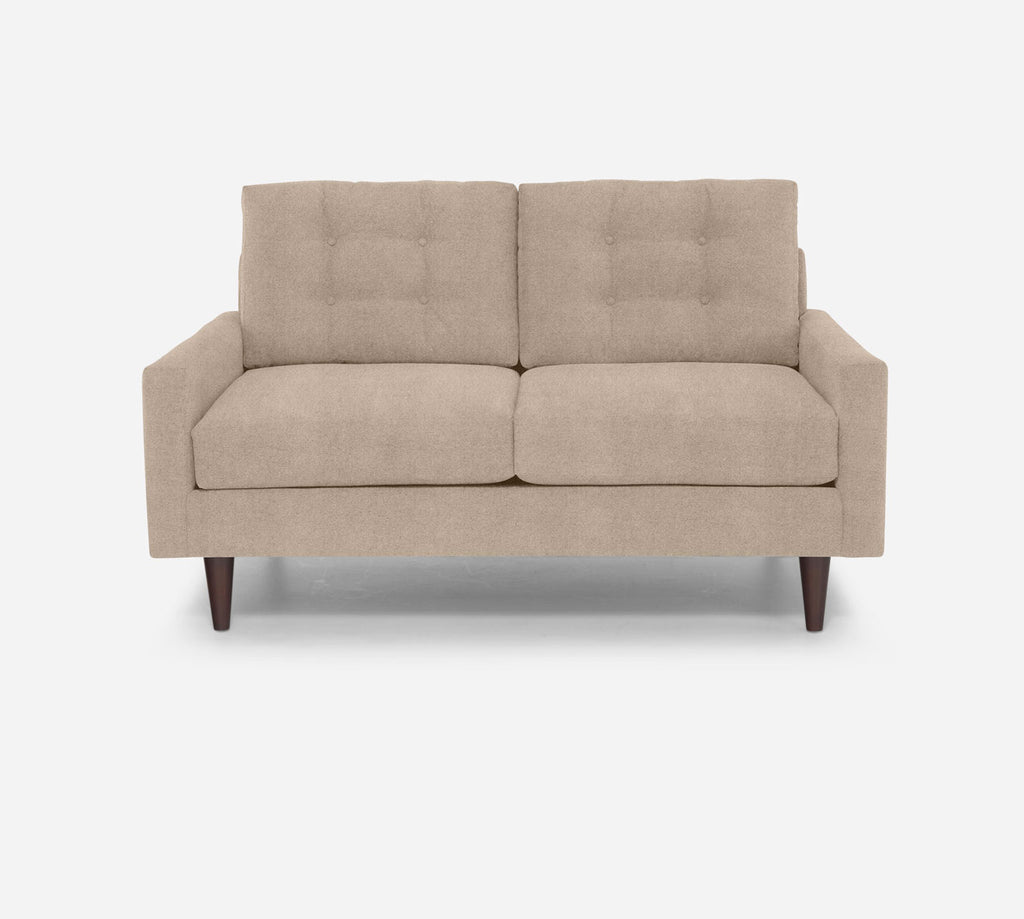 Taylor Loveseat - Passion Suede - Camel