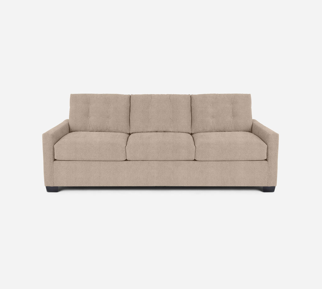 Taylor 3 Seat Sleeper Sofa - Passion Suede - Camel