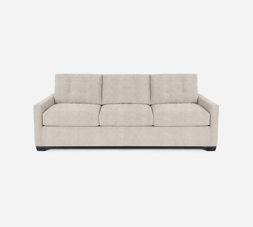 Taylor 3 Seat Sleeper Sofa - Passion Suede - Oyster