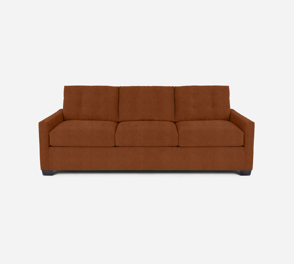 Taylor 3 Seat Sleeper Sofa - Passion Suede - Rust