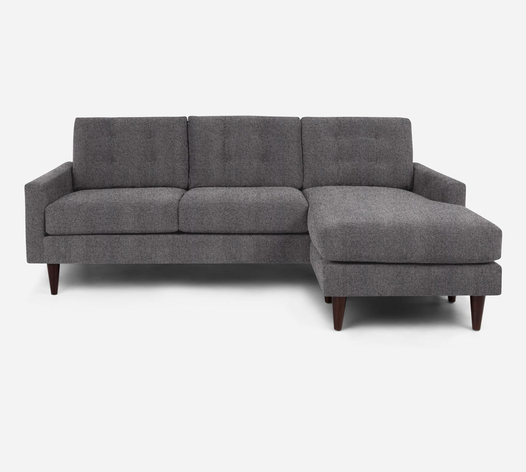 Taylor Sofa with Chaise- RHF - Theron - Concrete