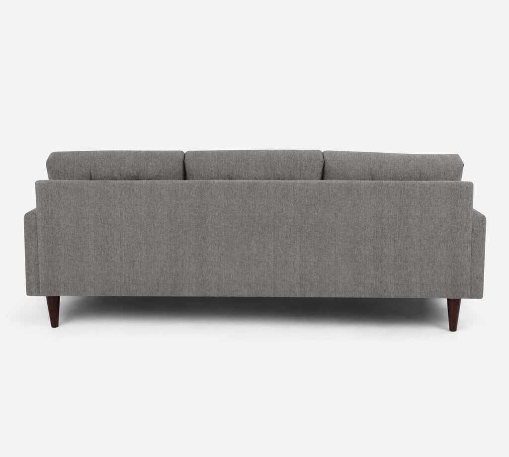 Taylor Sofa with Chaise- LHF - Stardust - Fossil