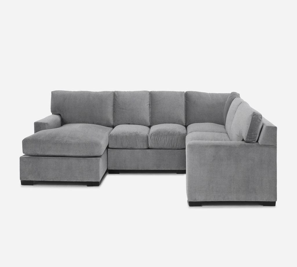 Kyle LAF Chaise Corner Sectional - Coastal - Ash