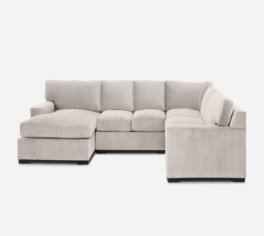 Kyle LAF Chaise Corner Sectional - Coastal - Sand