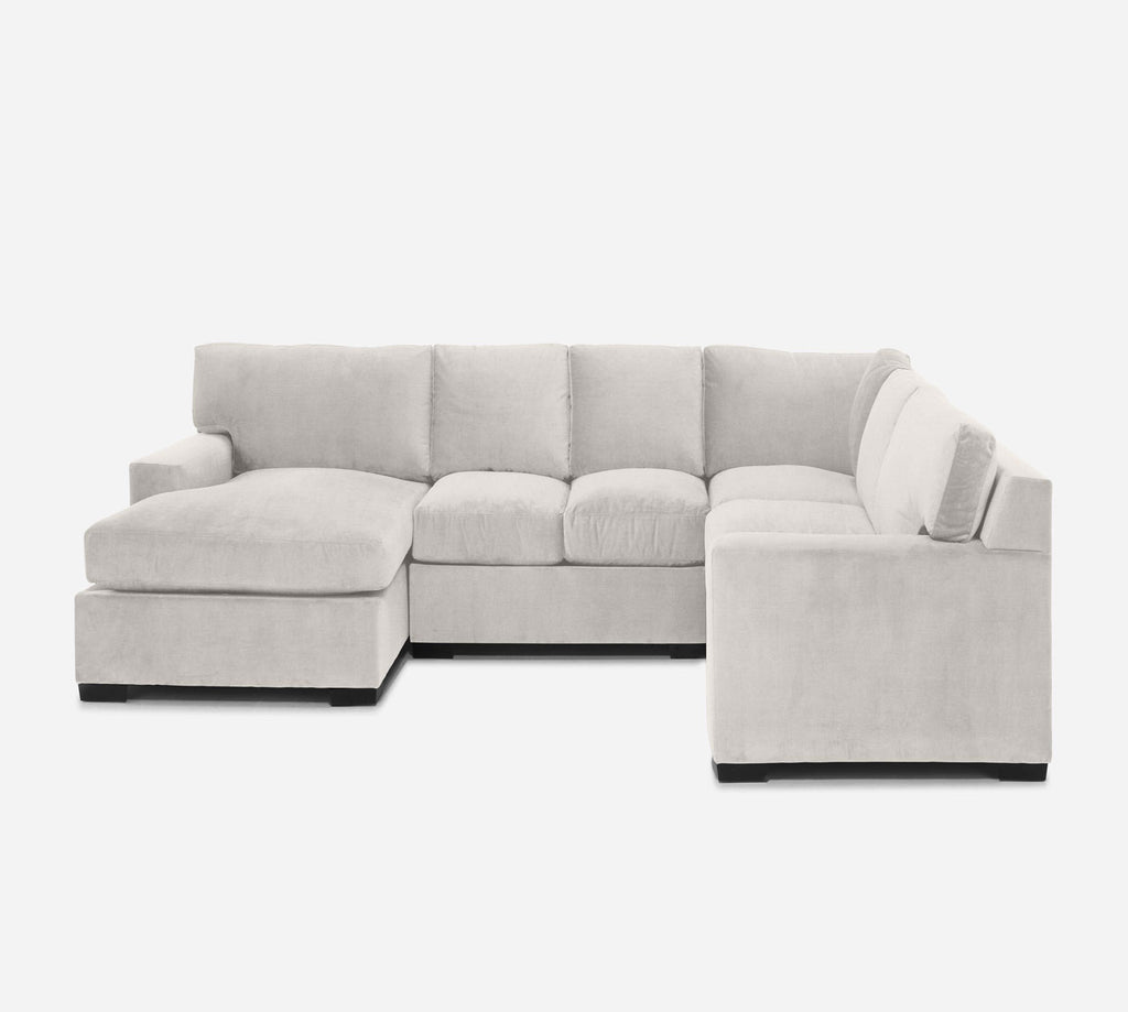 Kyle LAF Chaise Corner Sectional - Heritage - Ivory