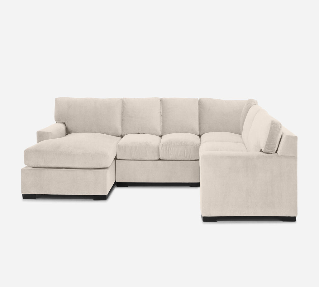 Kyle LAF Chaise Corner Sectional - Kenley - Canvas