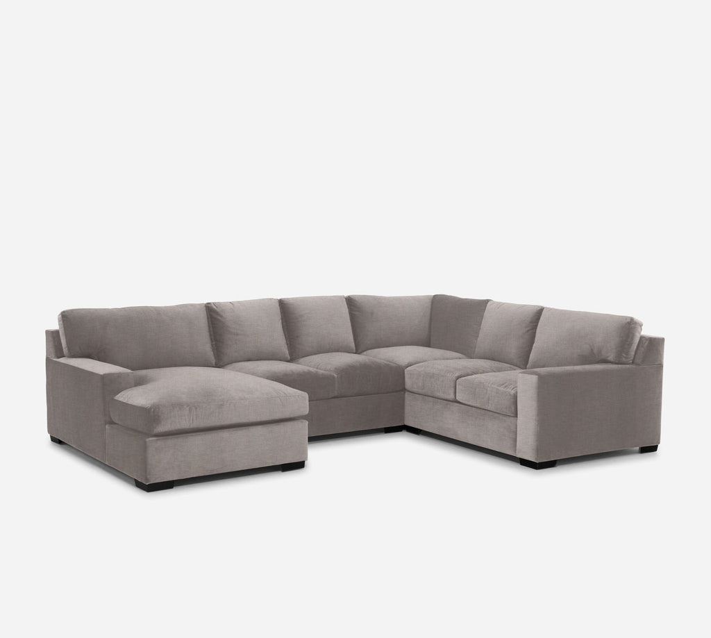 Kyle LAF Chaise Corner Sectional - Key Largo - Almond
