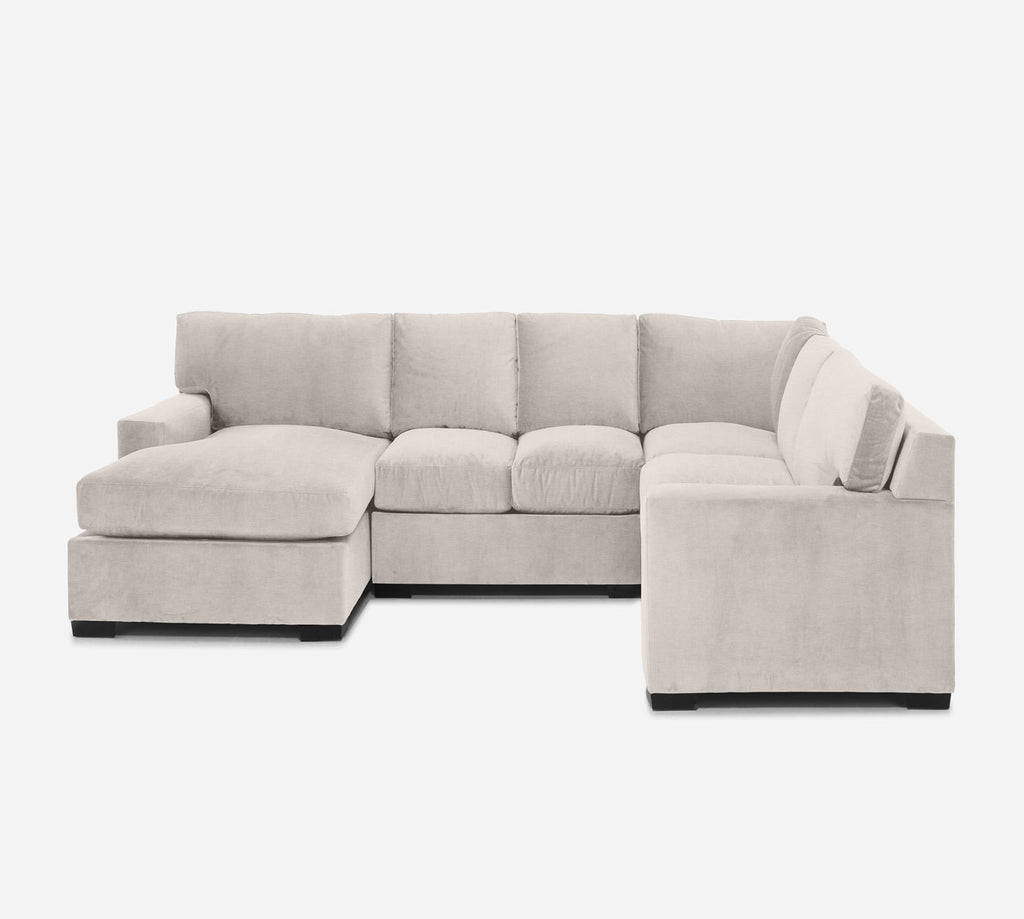 Kyle LAF Chaise Corner Sectional - Key Largo - Oatmeal