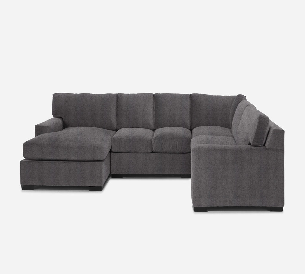 Kyle LAF Chaise Corner Sectional - Theron - Concrete