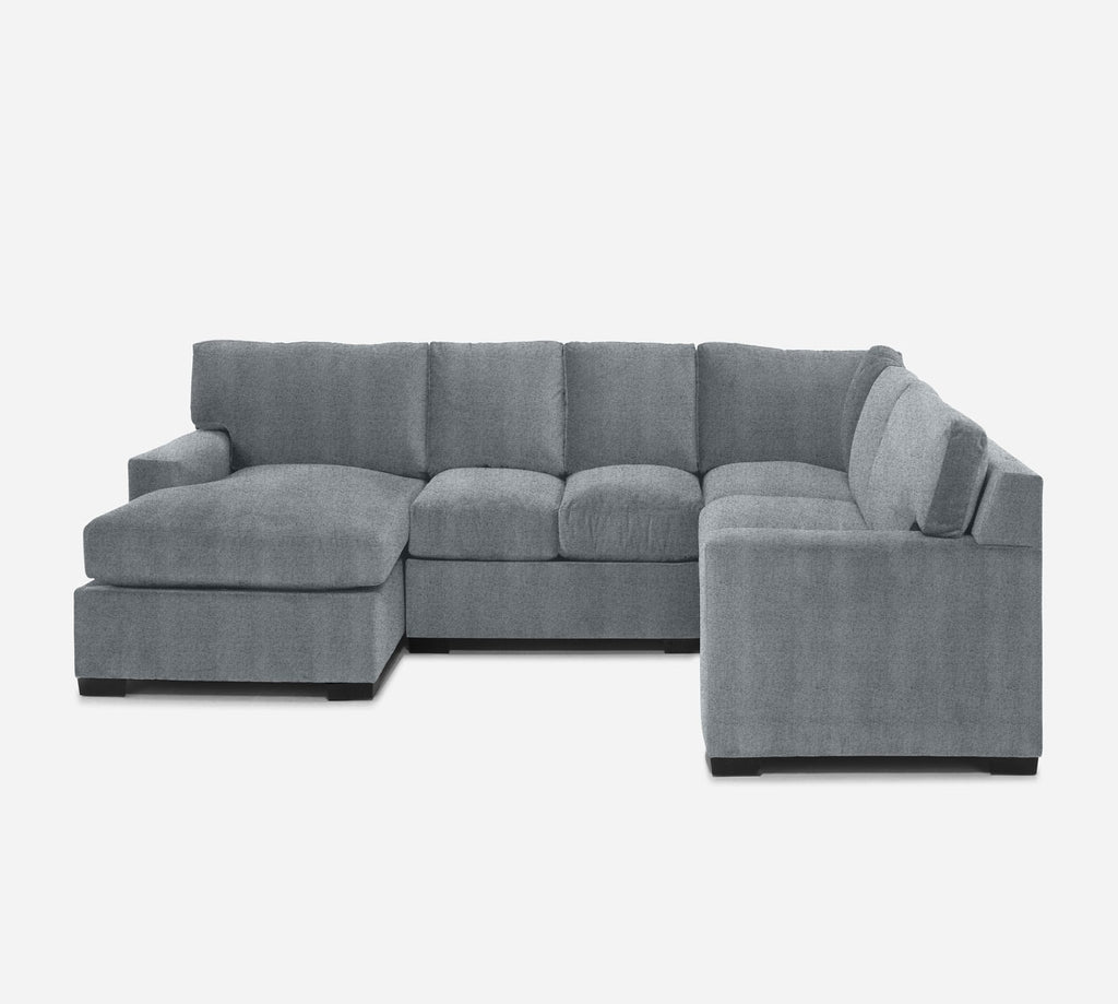 Kyle LAF Chaise Corner Sectional - Theron - Haze