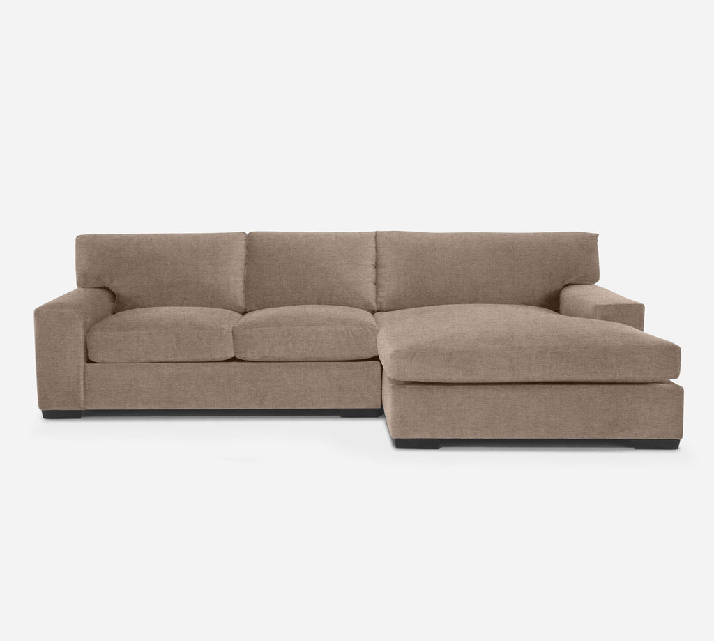 Kyle LAF Sectional Apt Sofa w/ Chaise - Coastal - Cashew