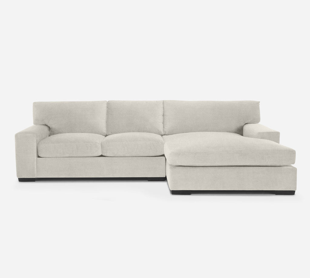 Kyle LAF Sectional Apt Sofa w/ Chaise - Heritage - Ivory