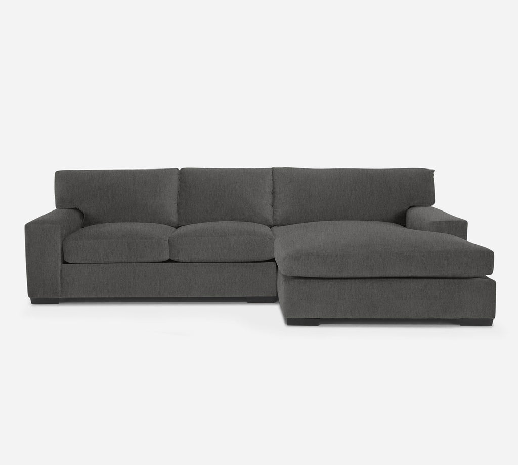 Kyle LAF Sectional Apt Sofa w/ Chaise - Kenley - Silversage