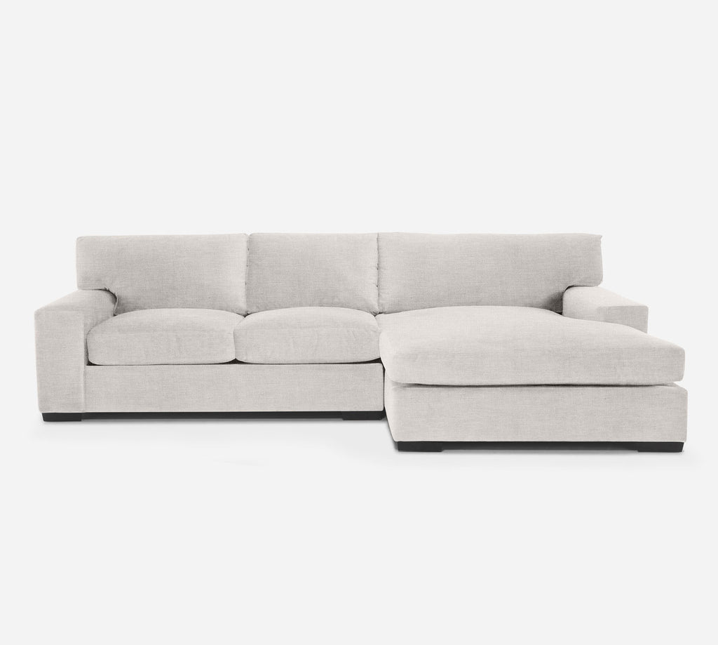 Kyle LAF Sectional Apt Sofa w/ Chaise - Key Largo - Oatmeal
