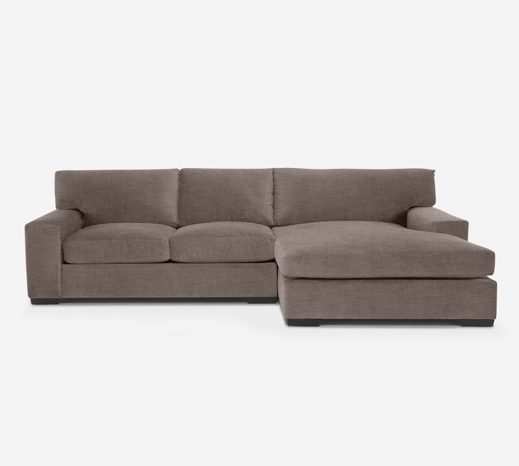 Kyle LAF Sectional Apt Sofa w/ Chaise - Key Largo - Pumice