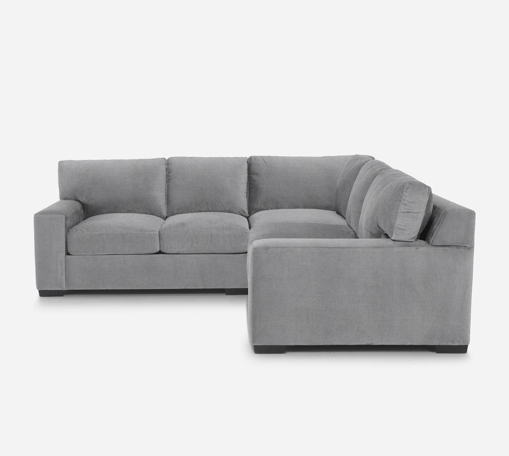 Kyle Corner Sectional - Coastal - Ash