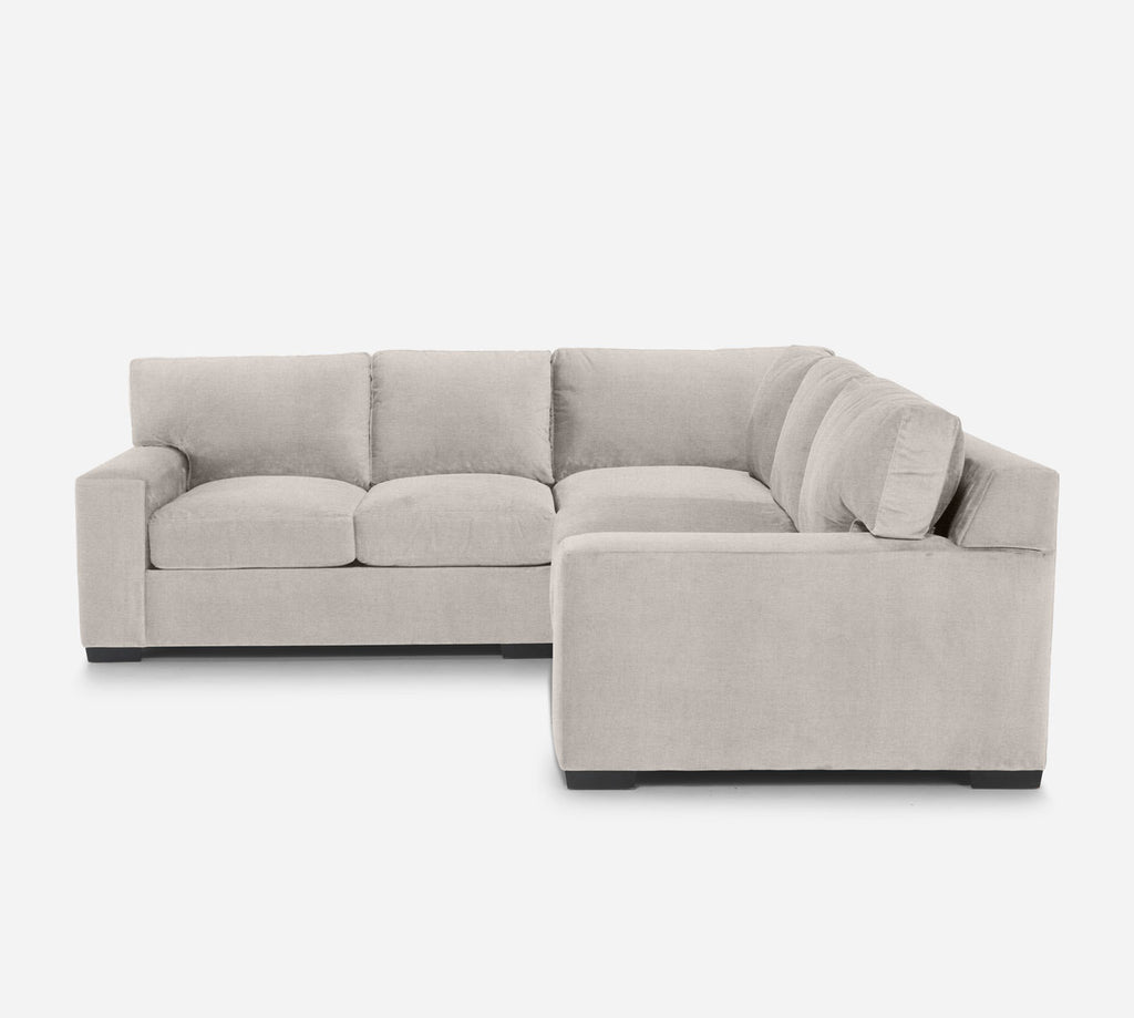 Kyle Corner Sectional - Coastal - Sand