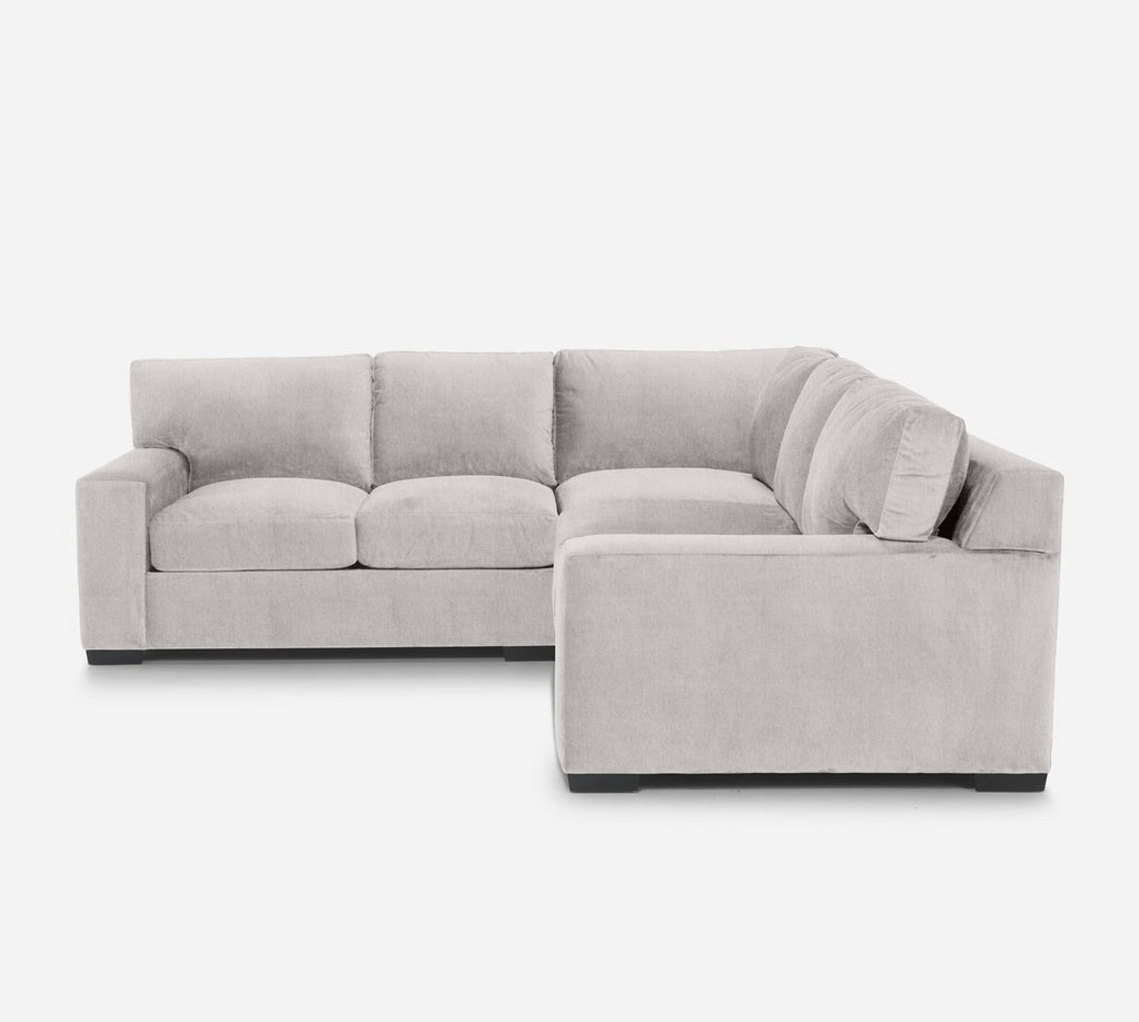 Kyle Corner Sectional - Kenley - Moondust