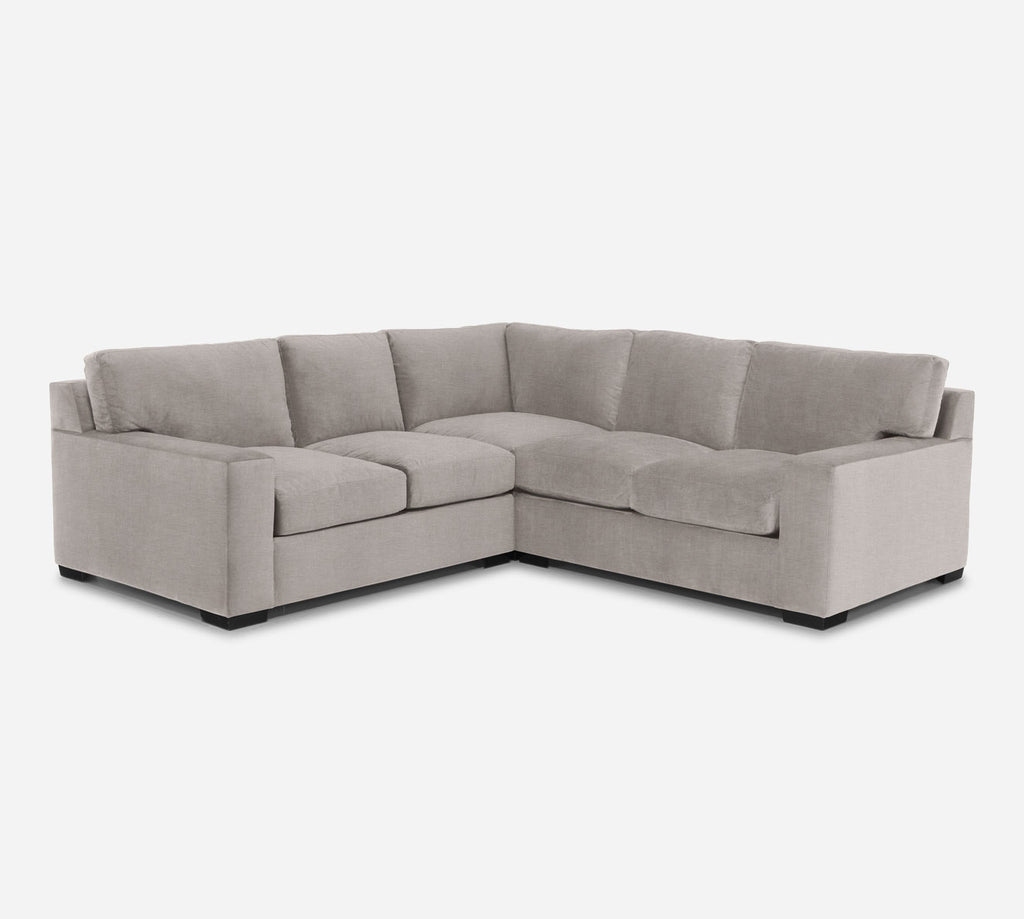 Kyle Corner Sectional - Key Largo - Ash