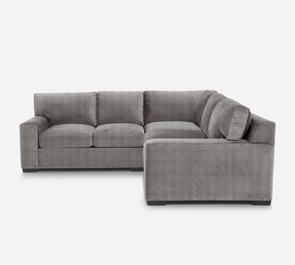 Kyle Corner Sectional - Stardust - Fossil