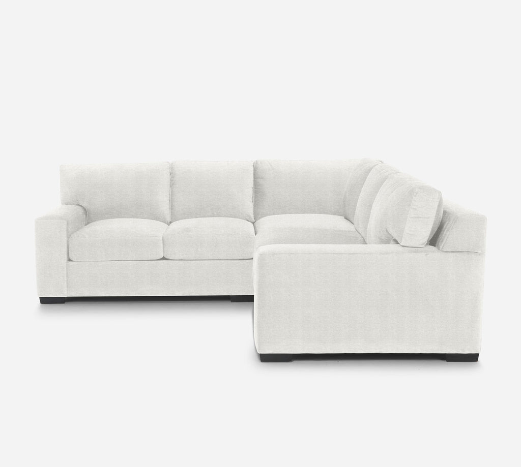 Kyle Corner Sectional - Stardust - Ivory