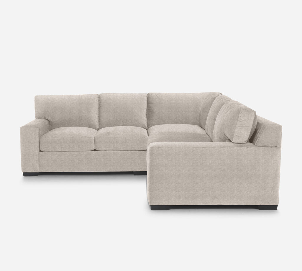 Kyle Corner Sectional - Stardust - Oatmeal