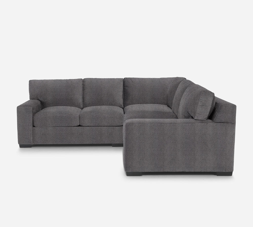 Kyle Corner Sectional - Theron - Concrete