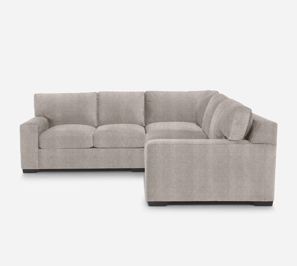 Kyle Corner Sectional - Theron - Oyster