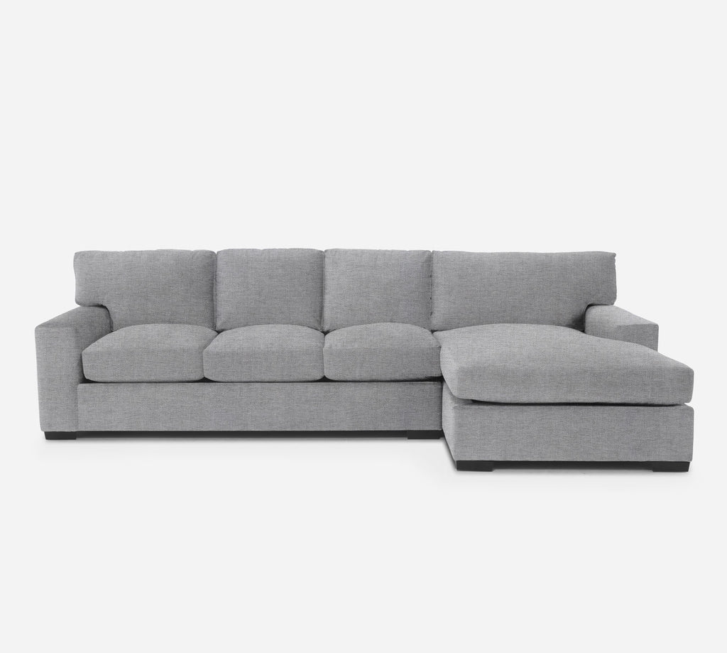 Kyle LAF Sectional Sofa w/ Chaise - Coastal - Ash