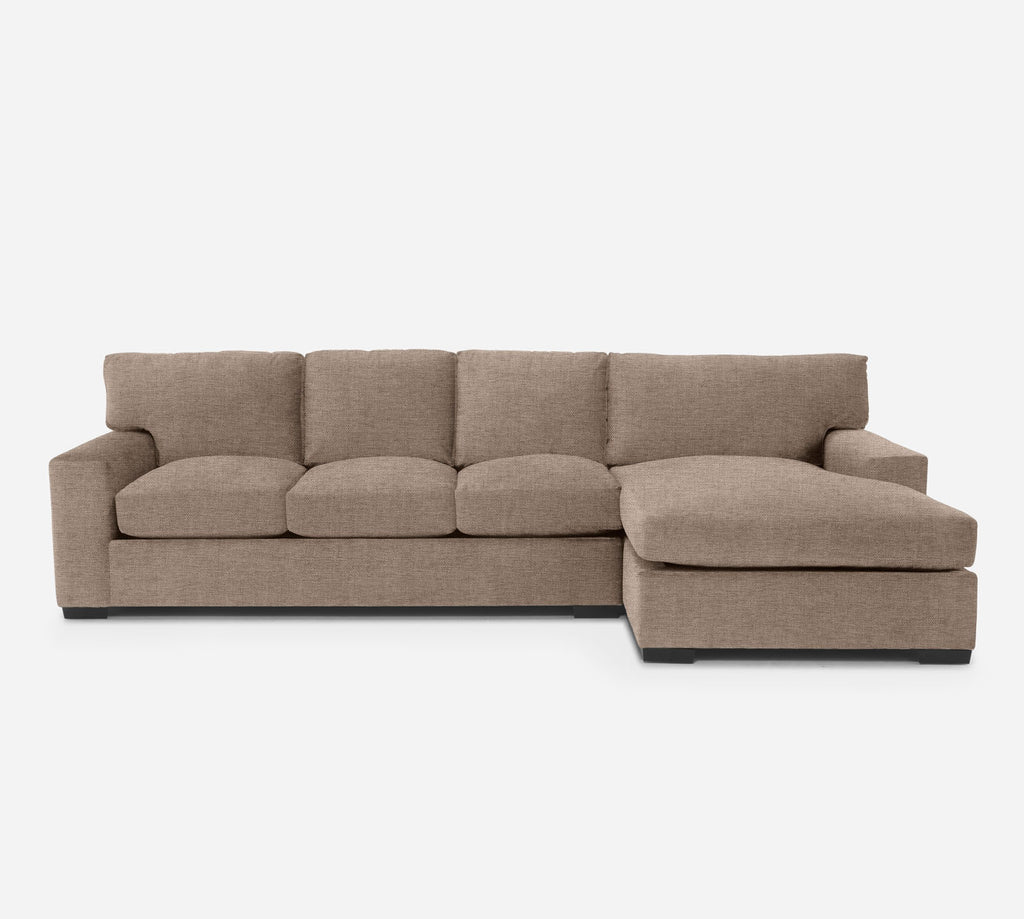 Kyle LAF Sectional Sofa w/ Chaise - Coastal - Cashew