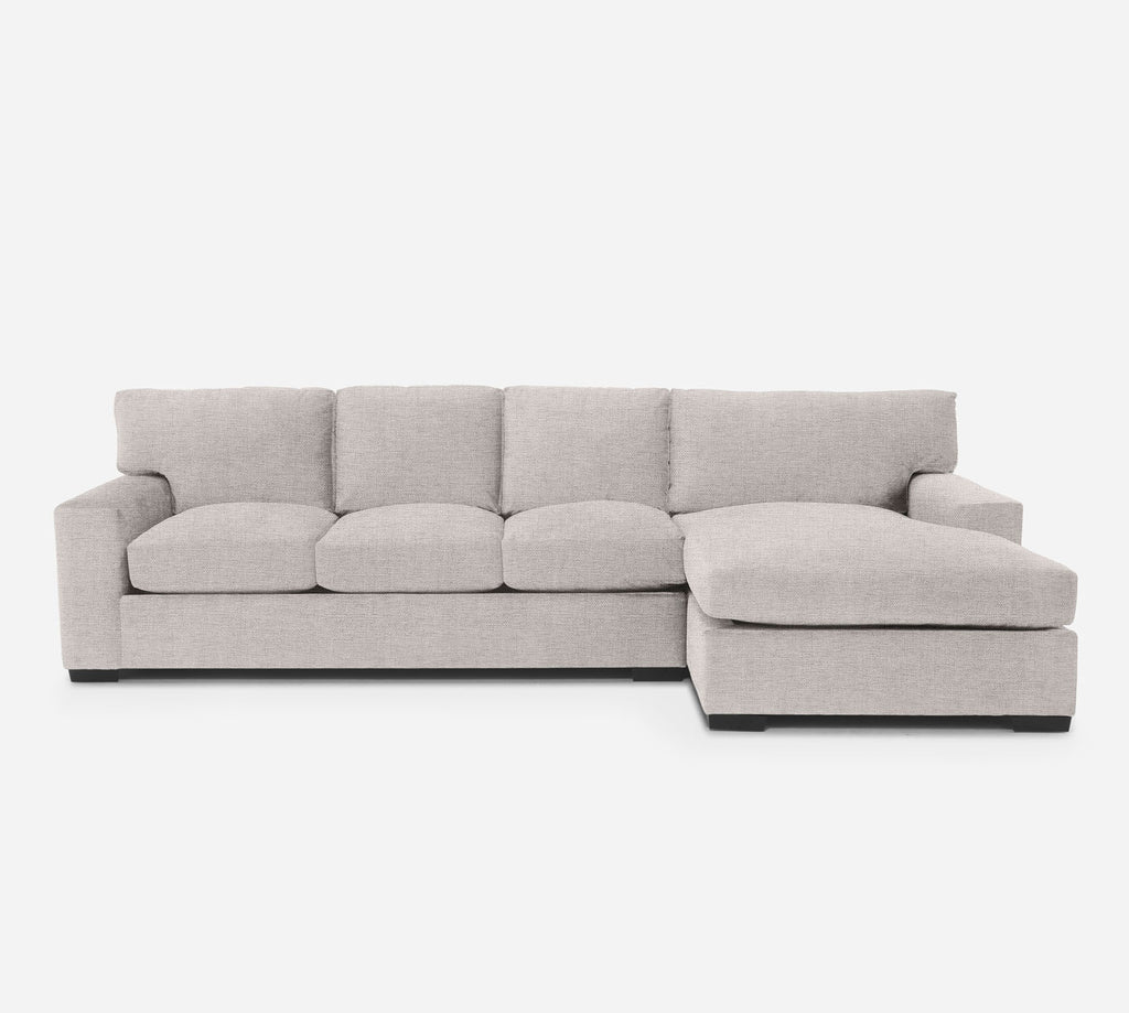Kyle LAF Sectional Sofa w/ Chaise - Coastal - Sand