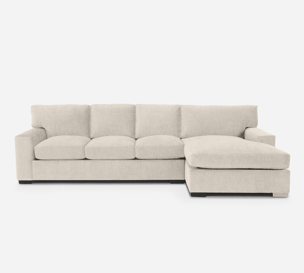 Kyle LAF Sectional Sofa w/ Chaise - Kenley - Canvas