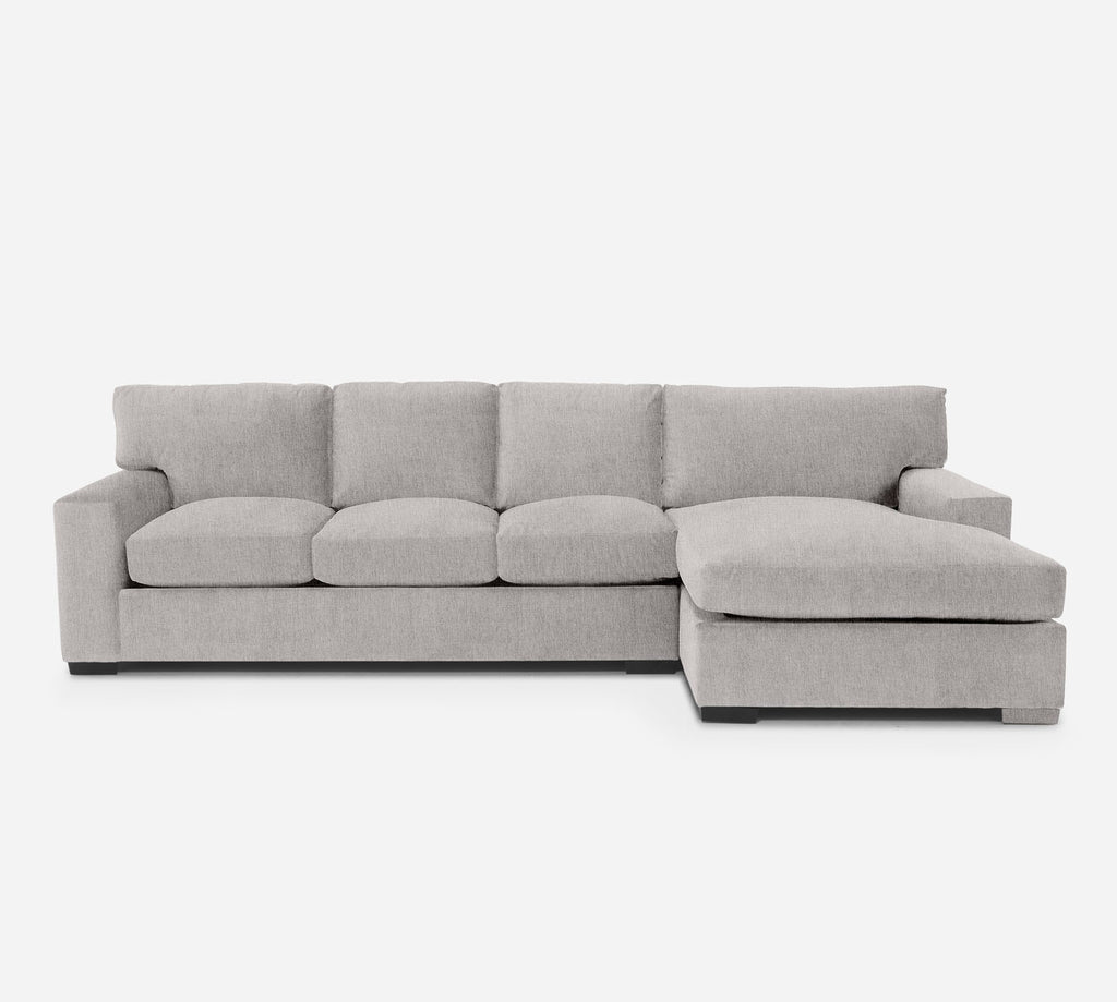 Kyle LAF Sectional Sofa w/ Chaise - Kenley - Moondust