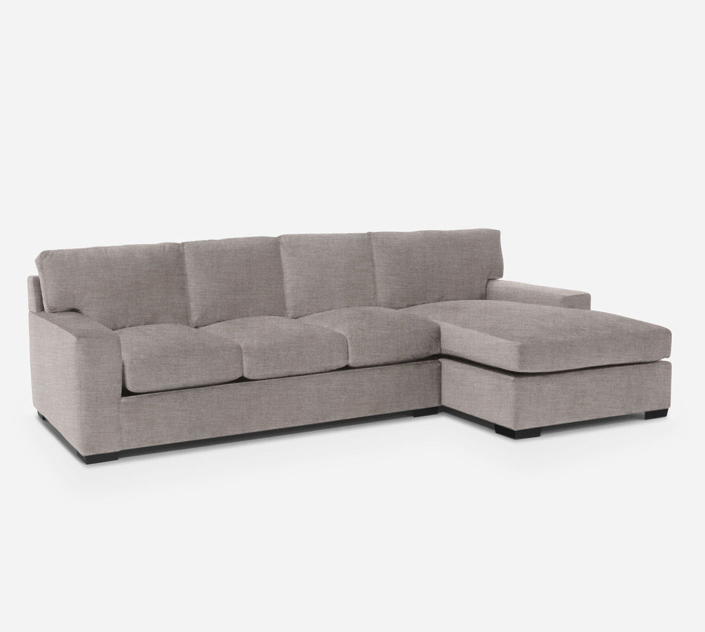 Kyle LAF Sectional Sofa w/ Chaise - Key Largo - Mocha