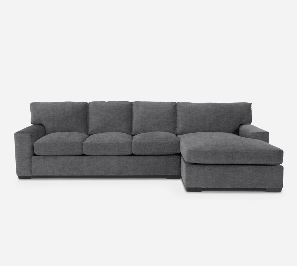 Kyle LAF Sectional Sofa w/ Chaise - Key Largo - Ash